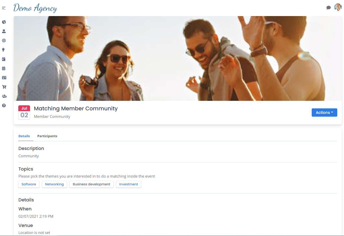 A powerful new community and membership matchmaking platform for matching people within events and groups