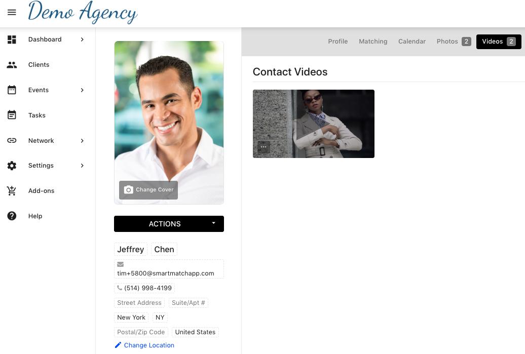 SmartMatchApp Video Feature