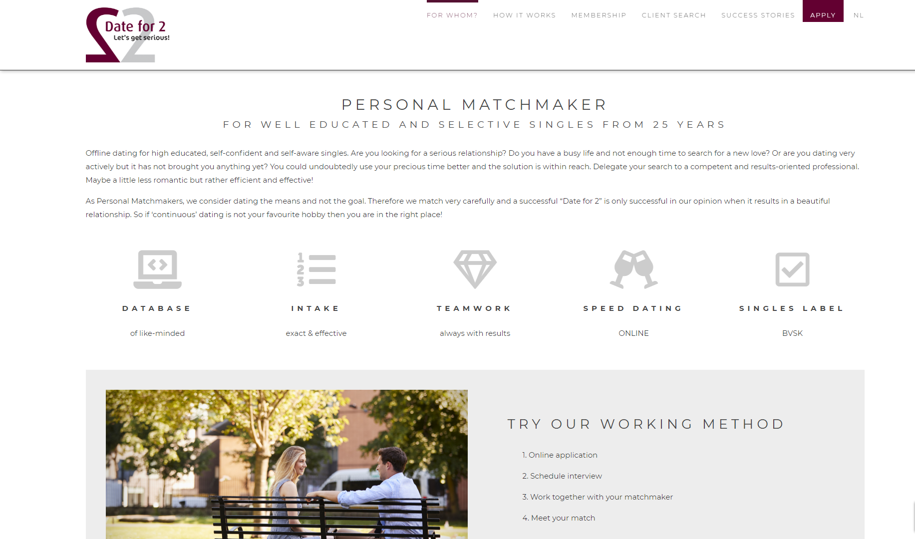 Maya Starykava, Owner and Personal Matchmaker at Date for 2, Shares Her Professional Matchmaking Story and How She Uses SmartMatchApp. Explore how Maya and her team use professional matchmaking tools. A few great tips from Maya for starting matchmakers are at the end.