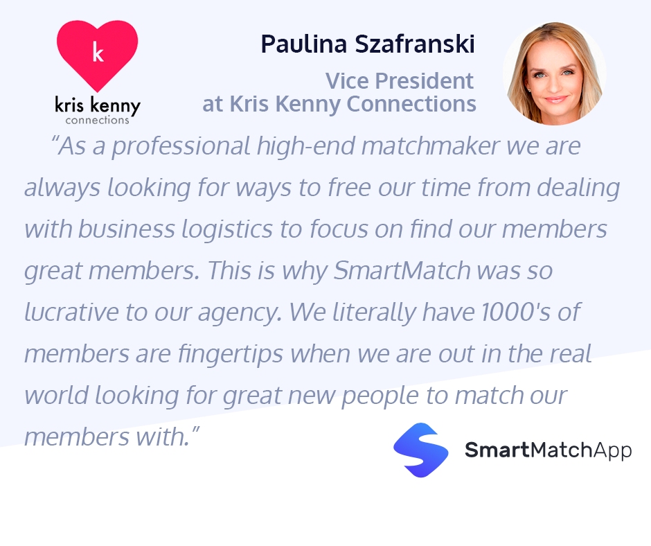 What a Wonderful Testimonial by Paulina, Vice President at Kris Kenny Connections