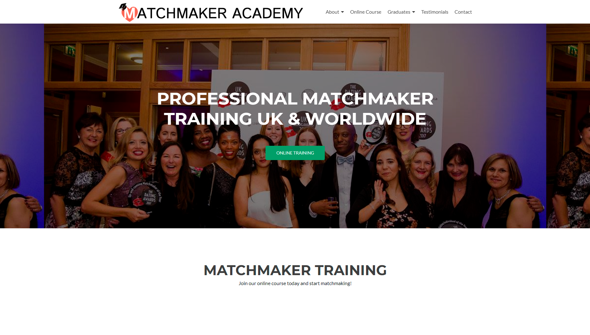 Caroline Brealey, founder of Mutual Attraction andMatchmaker Academy, shares with us today how Matchmaker Academy helps starting matchmakers to learn a great deal about the industry. Explore many learning opportunities and education paths on becoming a professional matchmaker. Study the best matchmaking practices with hands on experience, including video conferences, personal support and growing library of industry leading guides and tips. To learn more about professional matchmaking courses visitMatchmaker AcademyandMatchmaker Academy Online. Or get in touch with Caroline via email to schedule your first discovery callcaroline@mutualattraction.co.uk