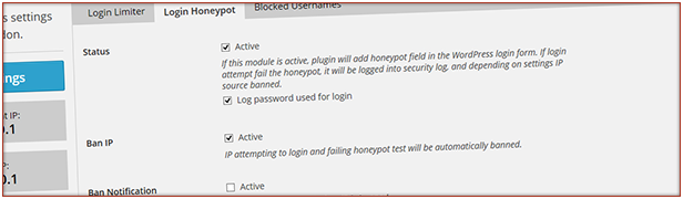 Login Honeypot: Prevent logins from bots