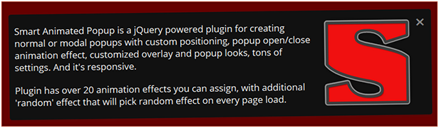 Custom styling for popup and different ways to add content