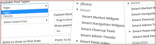 jQuery Smart Smart Market Smart custom Root matalino Navigaw plug, ns OEM Smart Market Widgets Smart cleanup custom Smart Navigation Widgets Smart AdminT Ipakita parent Tools Smart Cleanup Smart Admin Pagbabago Fol item muna ipakita Posts Smart Indv