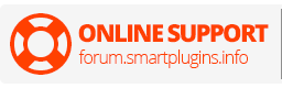 ONLINE SUPPORT forum.smartplugins.info