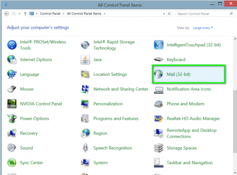 How to Manually Configure Exchange for Outlook - Abacus
