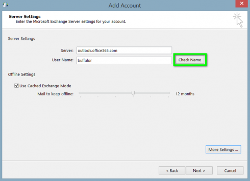 How to Manually Configure Exchange for Outlook - Abacus Private