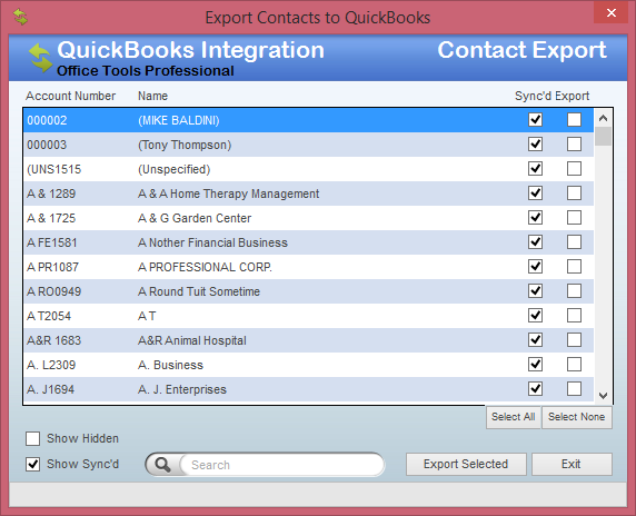 Importing Contacts from QuickBooks - OfficeTools Knowledge Base