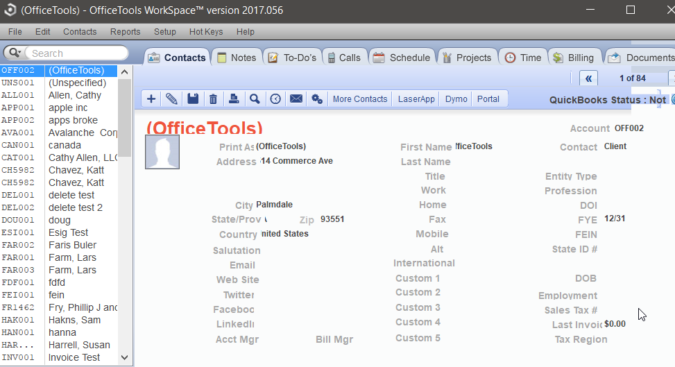 Fields in OfficeTools are being cut off - OfficeTools Knowledge Base