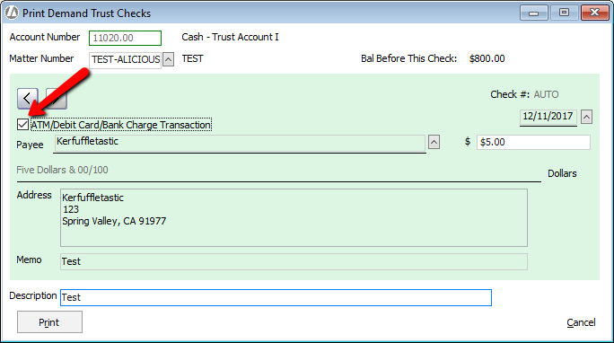 How do I handle wire transfers in and out of a trust account