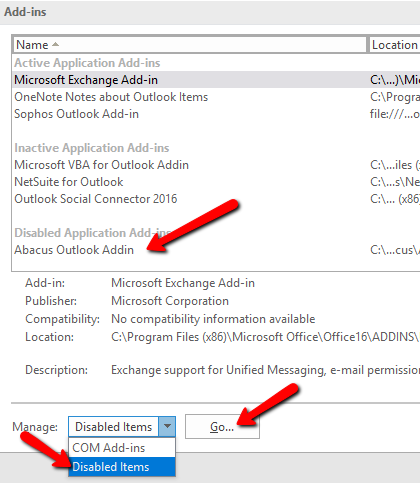 How to Install the Abacus Outlook Add-in - AbacusLaw Knowledge Base