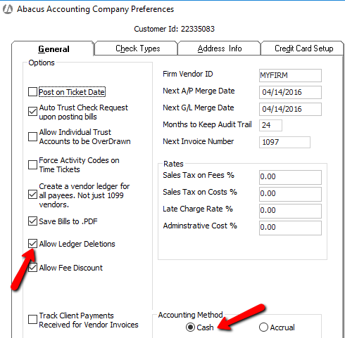 how to delete or reverse checks payments trust deposits or