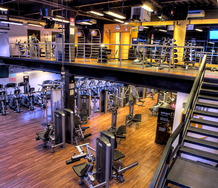 Smart fit condesa for Mejores gimnasios