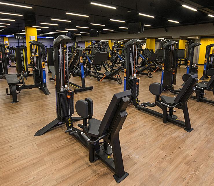Smart fit academia unidade north shopping sobral equipamento musculacao