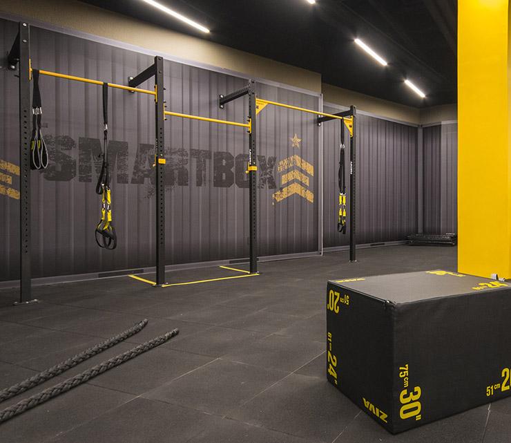 Academia smart fit anchieta belo horizonte minas gerais area smartbox treino funcional corda nautica plyo box