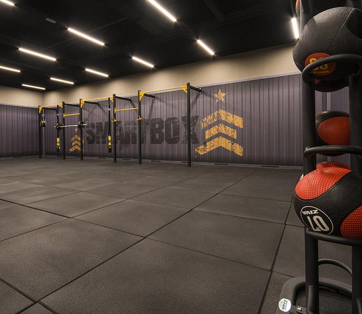 Smart fit academia contagem minas gerais area treino funcional smartbox equipamento