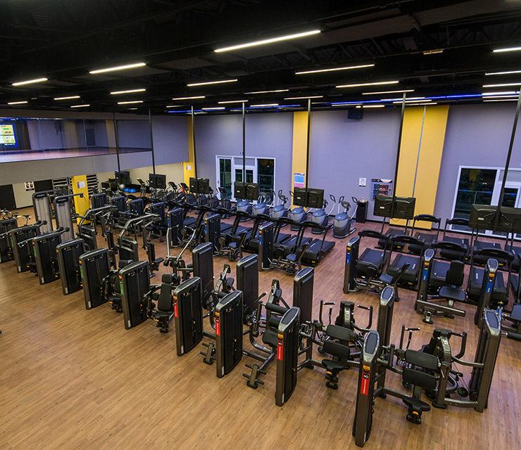 Smart fit academia unidade neo sp 1 equipamento area musculacao