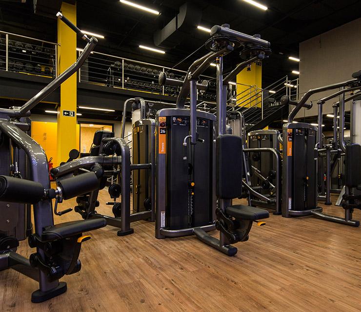Smart fit academia unidade neo sp 2 equipamento area musculacao