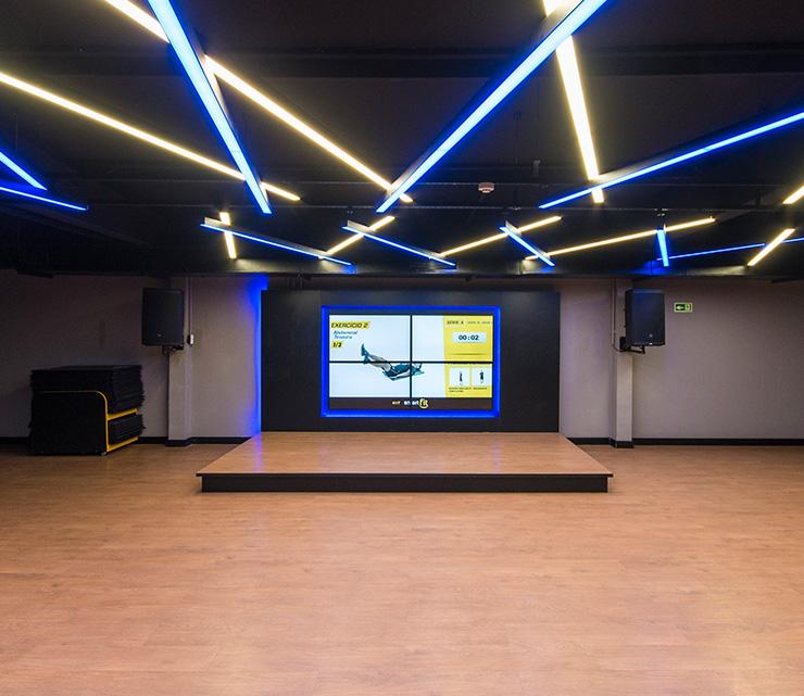 Smart fit academia unidade feira de santana ba 1 area aula ginastica ritmos zumba shbam alongamento abdominal