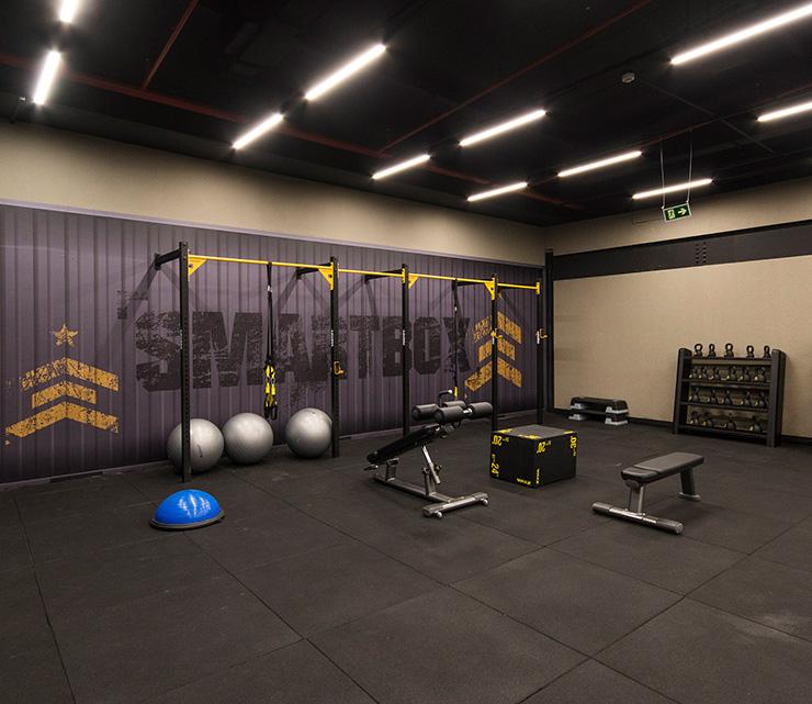Smart fit academia unidade palato al 1 area smartbox treino funcional trx