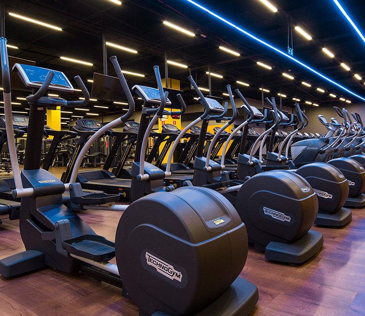 Smart fit academia unidade palato al 1 equipamento area cardiovascular transport eliptico