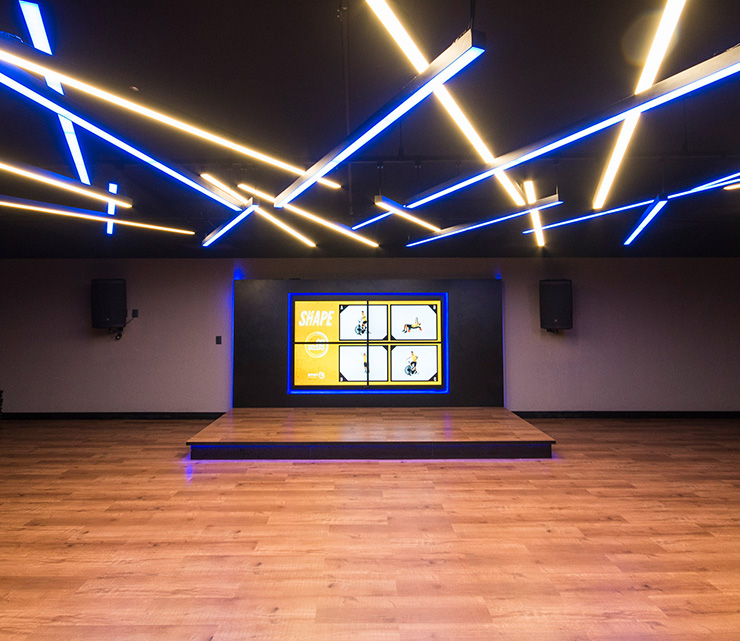 Smart fit academia unidade midway rn 1 area aula ginastica ritmos zumba shbam alongamento abdominal