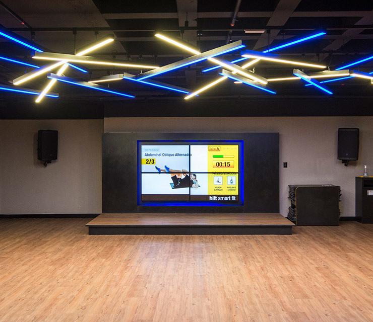 Smart fit academia unidade aracatuba sp 1 area aula ginastica ritmos zumba shbam alongamento abdominal