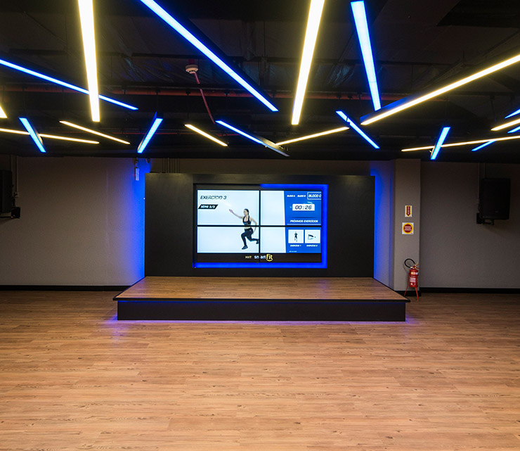 Smart fit academia unidade jaragua sul sc 1 area aula ginastica ritmos zumba shbam alongamento abdominal