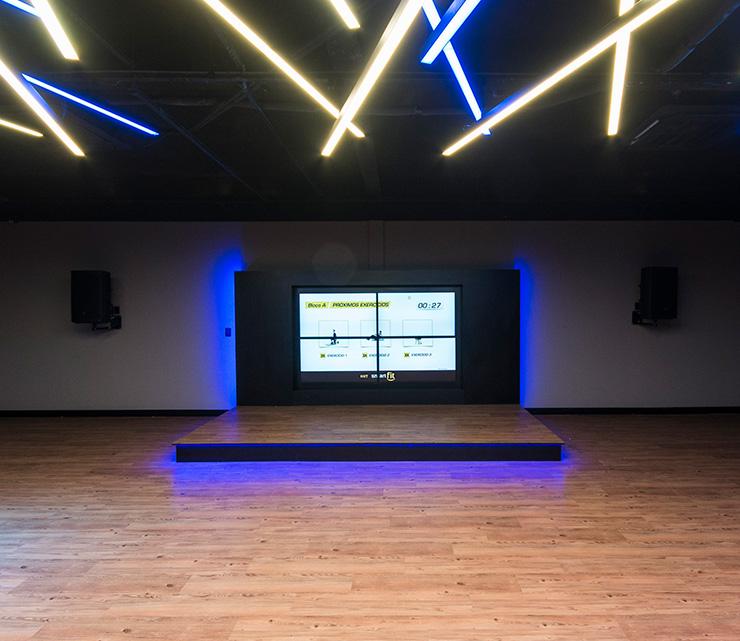 Smart fit academia unidade vila valqueire rj 1 area aula ginastica ritmos zumba shbam alongamento abdominal