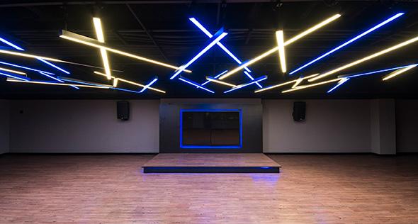 Smart fit academia unidade north shopping ce 1 area aula ginastica ritmos zumba shbam alongamento abdominal