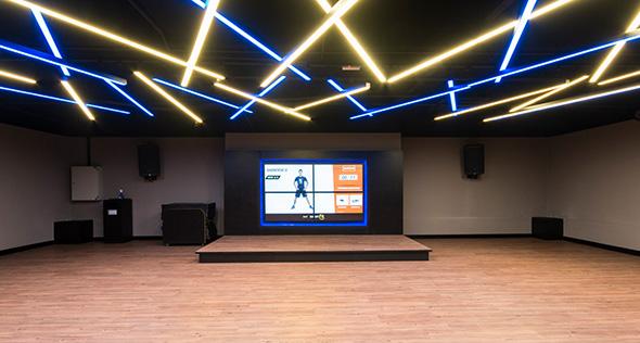 Smart fit academia unidade pampulha belo horizonte mg 1 area aula ginastica ritmos zumba shbam alongamento abdominal