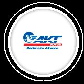 Logo AKT motos