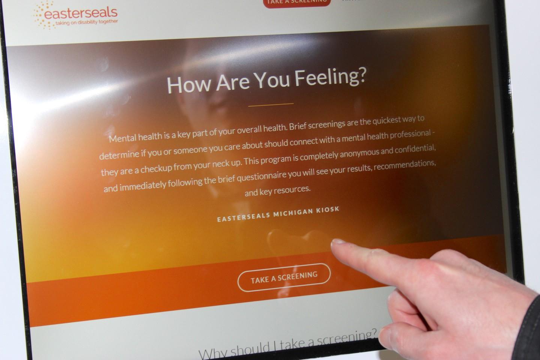 Mindkare Kiosks Program Screening For Mental Health
