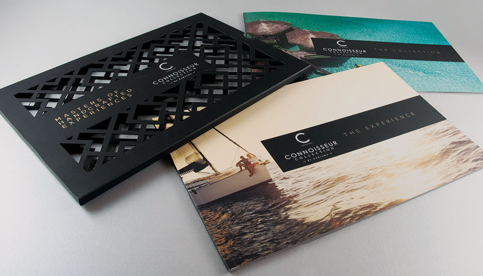 Connoisseur Collection Karisma Luxury Travel Mastered Experience Brochure Designs from Starmark International