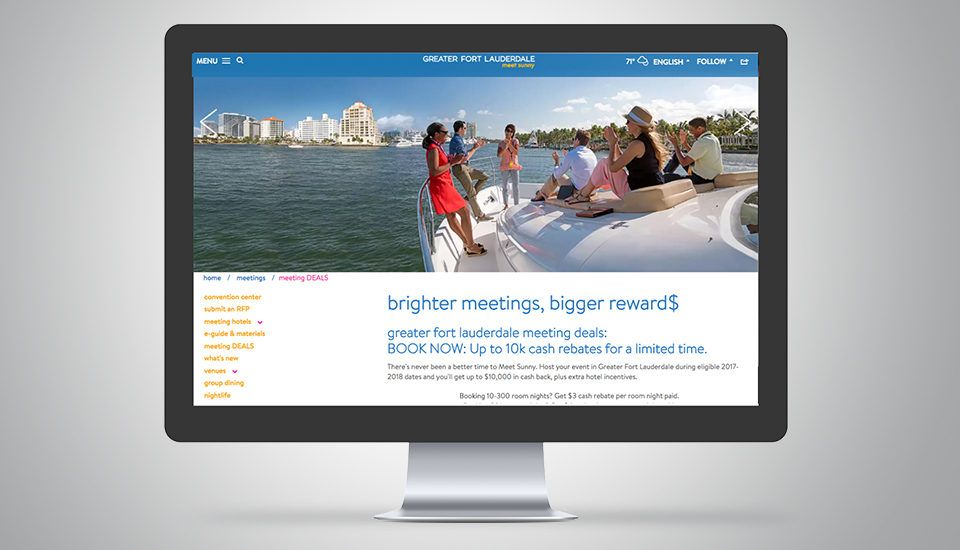 Hello Sunny Landing Page Greater Fort Lauderdale