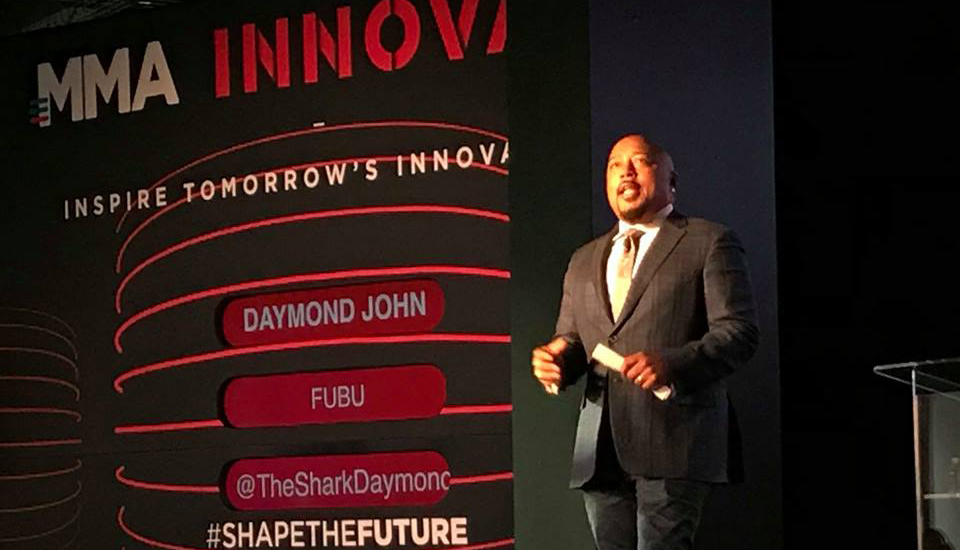 Daymond John at the 2018 MMA Innovate Conference