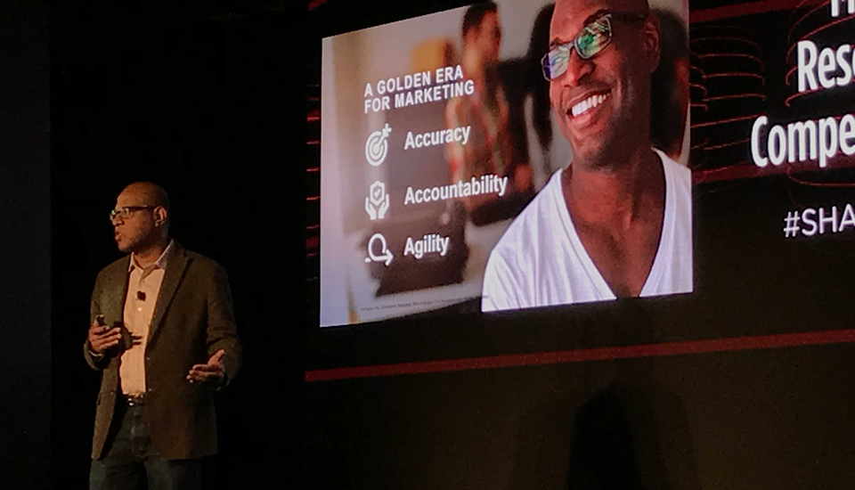 2018 MMA Innovate Conference - The Golden Age of Marketing begins with Accuracy, Accountability and Agility.