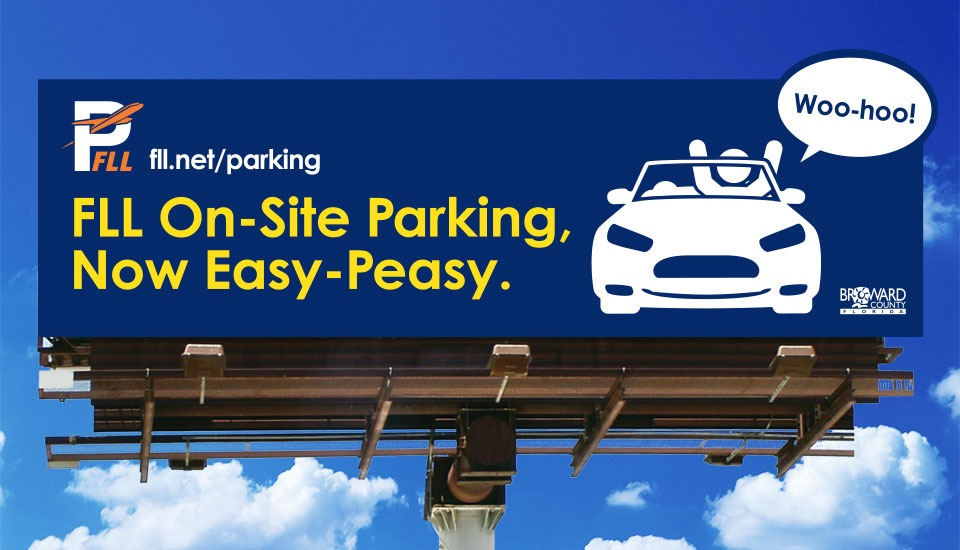 FLL Parking Billboard