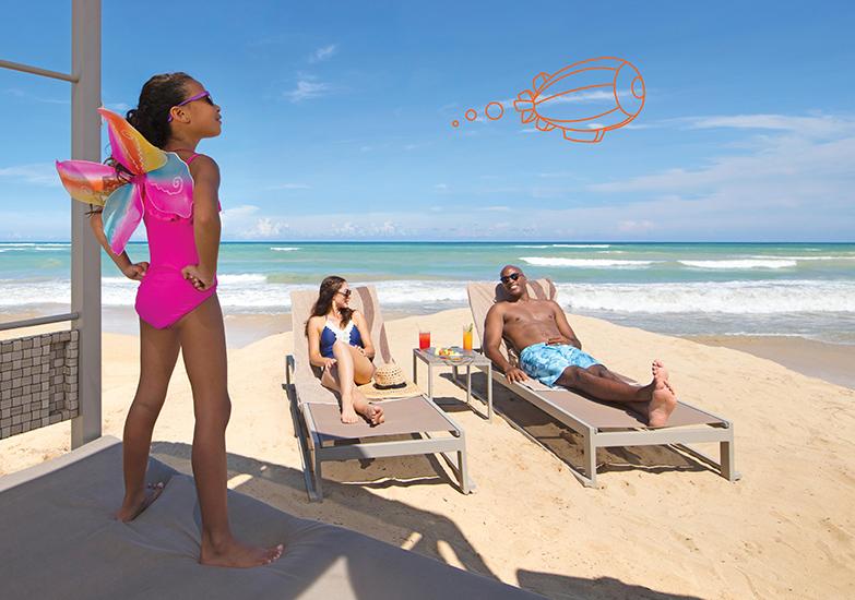 Nick Punta Cana Photo Shoot - Doodle Campaign