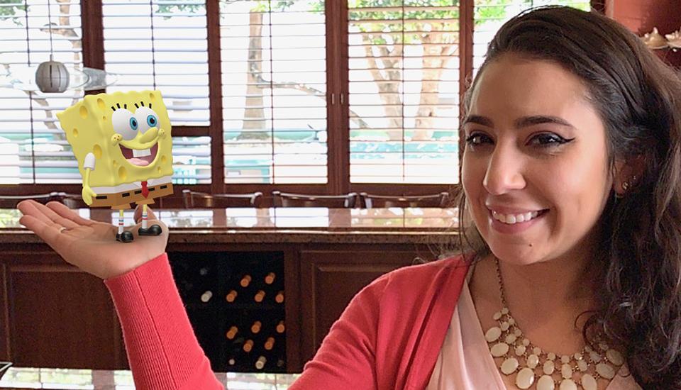 Hands On with Spongebob Squarepants
