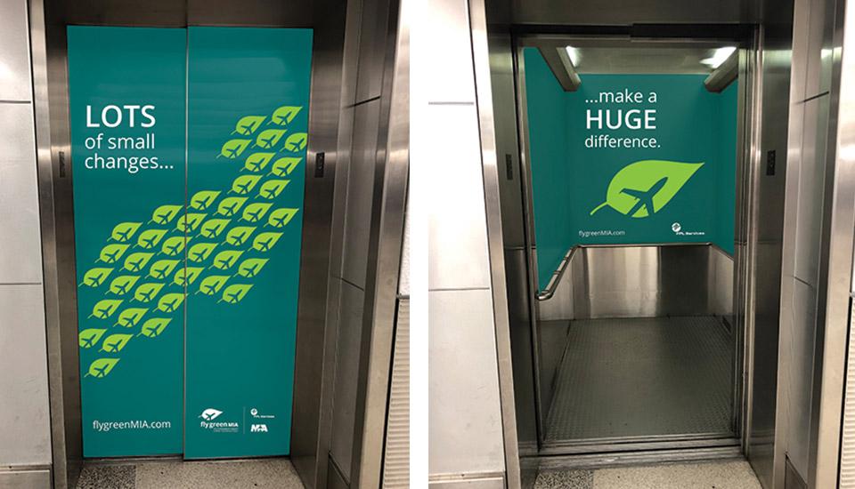 flyGreenMIA elevator doors
