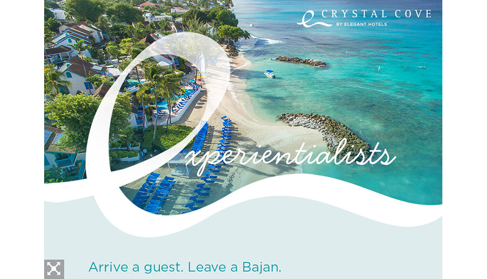 Crystal Cove Experientialists Arrive a guest. Leave a Bajan.