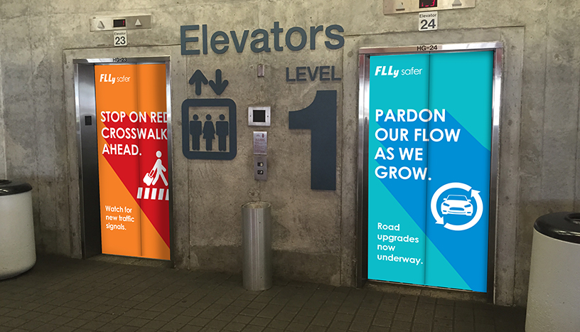 FLL Safety First - Elevator wraps.