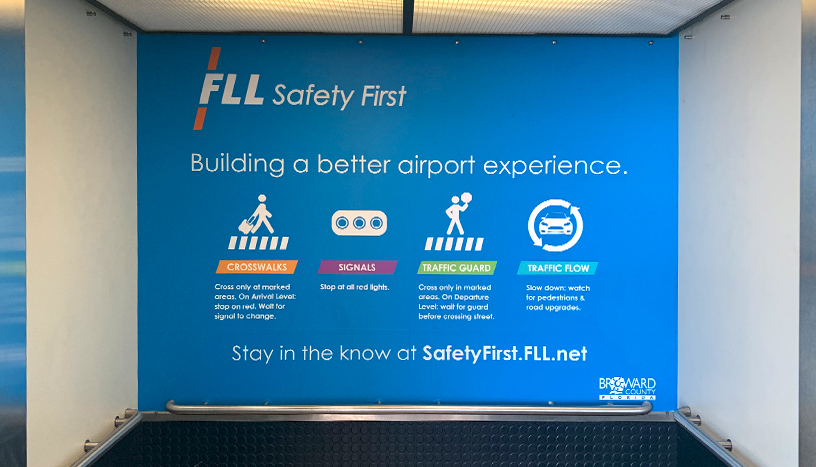 FLL Safety First - Elevator interior wrap