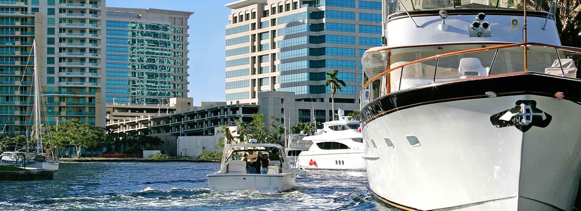 Fort Lauderdale International Boat Show and Marine International Hub