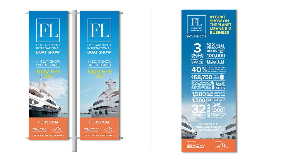 Pole Banners FLIBS International Boat Show