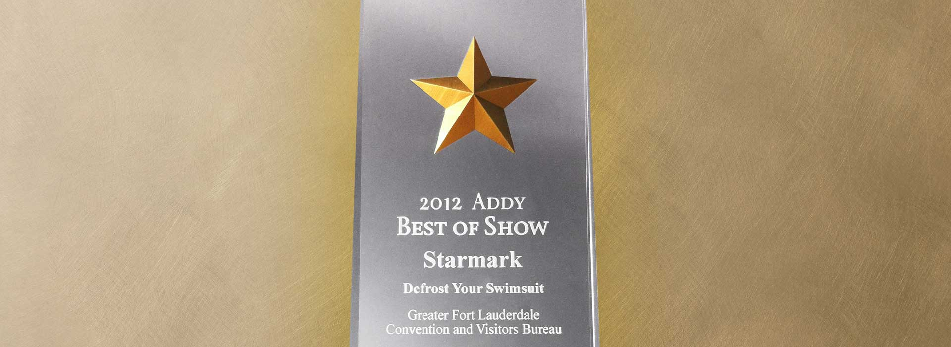 Starmark's Creative Wins 'Best of Show'