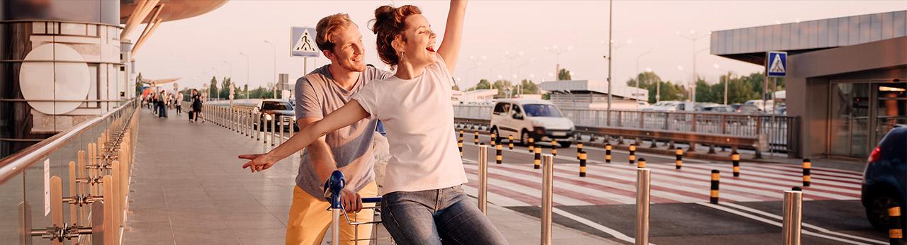 Viver novos momentos e histórias ao redor do mundo começa com nossas companhias aéreas parceiras.