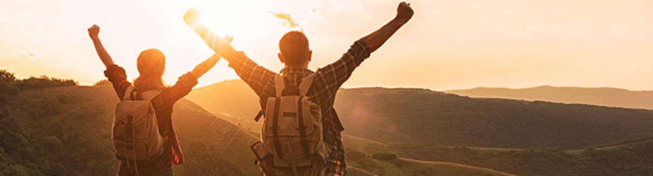 Viver o mundo no seu tempo começa com você estendendo a validade das suas milhas.