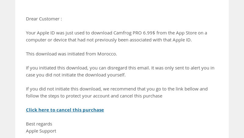 Apple Support Spam Emails | Official Apple Support Communities